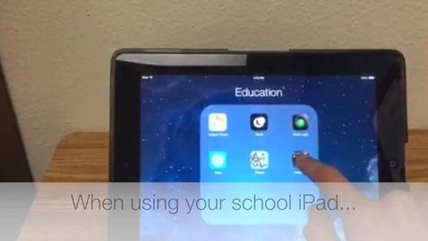 Thumbnail for entry 2 iPads & Cafeteria
