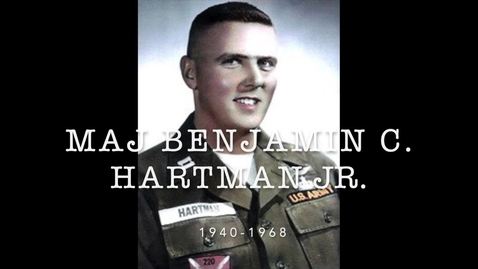 Thumbnail for entry Hartman, Benjamin C. Jr