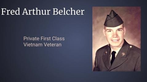 Thumbnail for entry Belcher, Fred Arthur