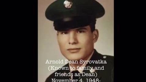 Thumbnail for entry Syrovatka, Arnold Dean