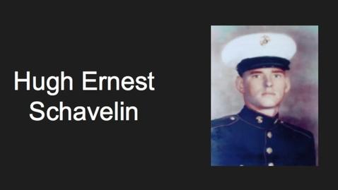 Thumbnail for entry Schavelin, Hugh Ernest