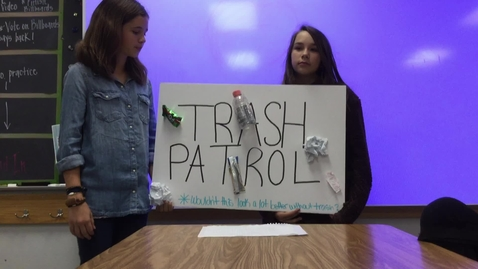 Thumbnail for entry Trash Patrol
