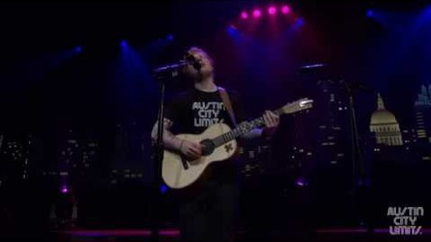 "Thumbnail for entry Ed Sheeran on Austin City Limits ""Thinking Out Loud"""
