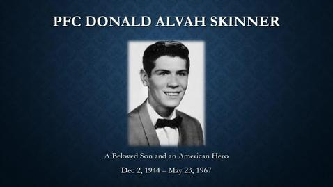 Thumbnail for entry Skinner, Donald Alvah