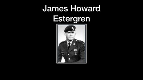 Thumbnail for entry Estergren, James Howard