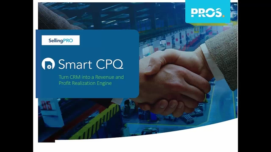 Demo PROS Smart CPQ in Salesforce