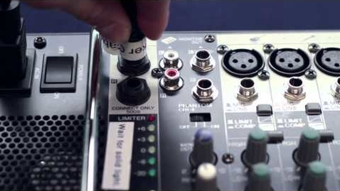 """Thumbnail for entry """"Sound Systems"""" - Media Services Equipment Training"""