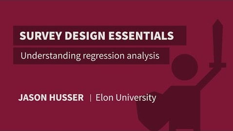 Thumbnail for entry Understanding regression analysis