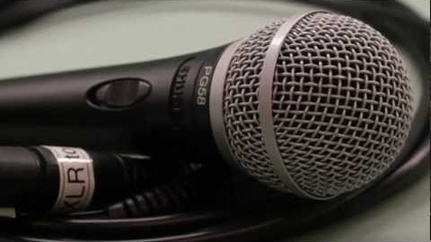 """Thumbnail for entry """"Microphones"""" - Media Services Equipment Training"""
