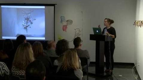 Thumbnail for entry Artist Talk   Jeanine Hill