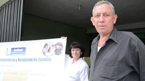 Miniatura para la entrada TESTIMONIO del Director Departamental El Progreso- Entrega murales de transparencia