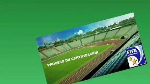 Miniatura para la entrada Estadio Cementos Progreso certificado por FIFA con dos estrellas