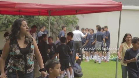 Miniatura para la entrada Florentino Pérez inaugura segunda escuela sociodeportiva