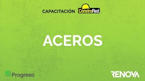 Miniatura para la entrada Capacitacion ConstruRed Aceros.mov