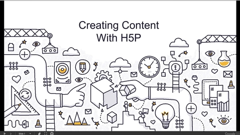 Thumbnail for entry Creating Interactive Content with H5P