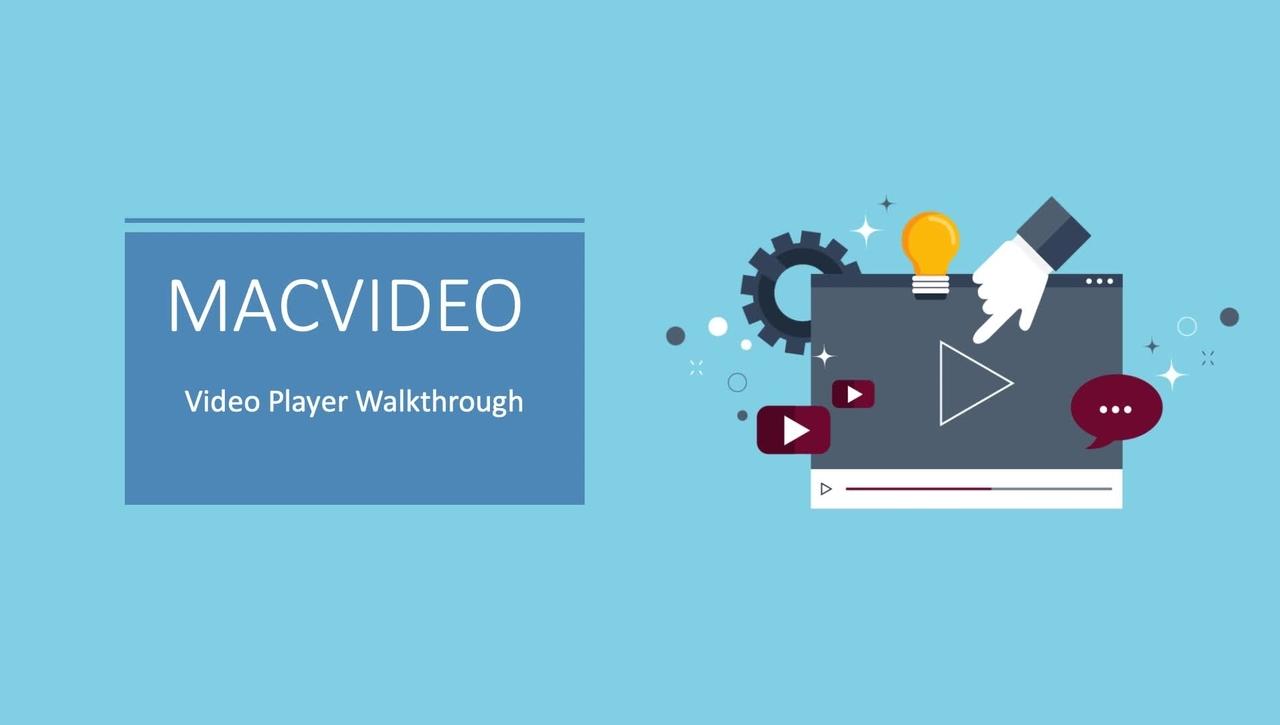 MacVideo Player Walkthrough