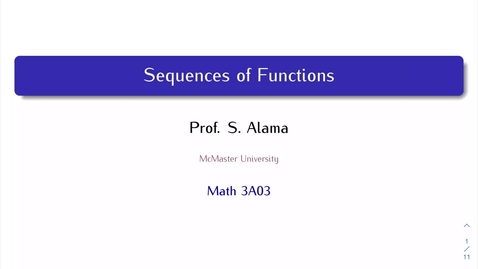 Thumbnail for entry Sequences of Functions, Part 3a