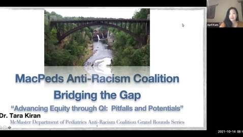 Thumbnail for entry Bridging The Gap: Advancing Equity Through QI | Pitfalls and Potentials | Oct. 2021