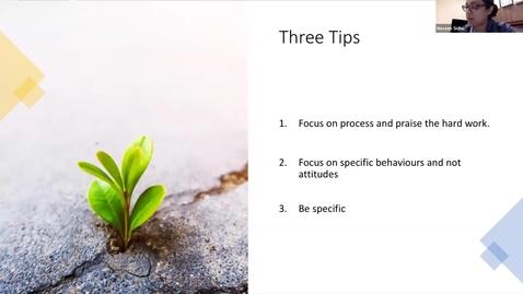 Thumbnail for entry Three Tips for Narrative Feedback | Faculty Development | Naveen Sidhu | September 2021