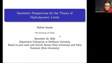 Thumbnail for entry November 20 - Makiko Sasada