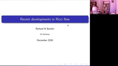 Thumbnail for entry December 4 - Richard Bamler