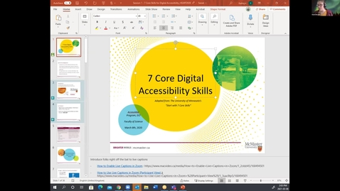 Thumbnail for entry The 7 Core Skills of Accessibility for Document Creation