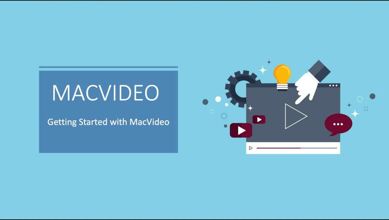 MacVideo Getting Started