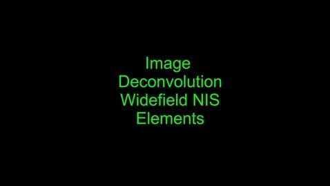 Thumbnail for entry Deconvolution Module