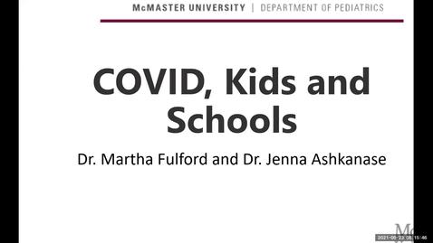 Thumbnail for entry Kids, COVID & Schools?! | September 23, 2021