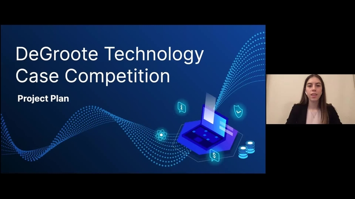 Thumbnail for channel DeGroote Technology Case Competition Project Plan