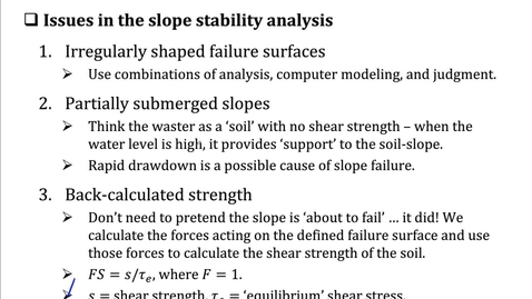Thumbnail for entry Slope Stability - 7