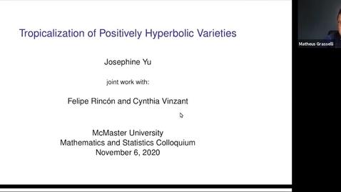 Thumbnail for entry November 6 - Josephine Yu