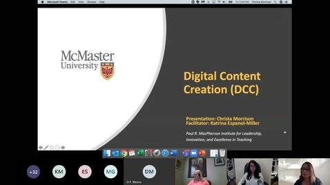 Thumbnail for entry Digital Content Creation for Instructors and Students