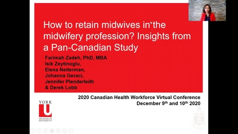 Thumbnail for entry How to retain midwives in the midwifery profession? Insights from a Pan-Canadian Study