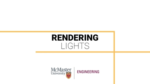Thumbnail for entry Rendering in Inventor 103 - Lights