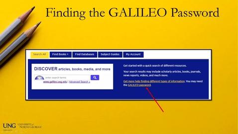 Thumbnail for entry Galileo Password 5/2/19