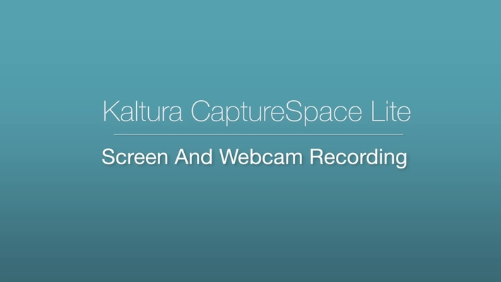 CaptureSpace - Screen and Webcam Recording