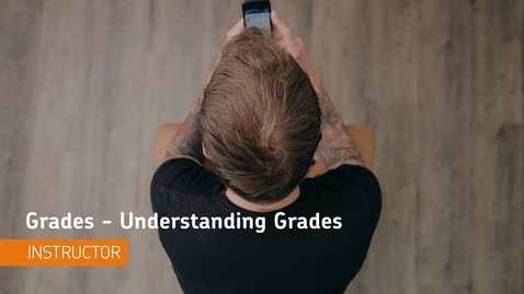 Thumbnail for entry D2L Grades - Understanding the Grade Book
