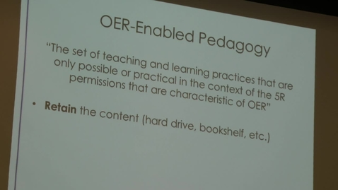 Thumbnail for entry ACTIVE-Chancellor's Learning Scholars: OER and your FLC - Video 4
