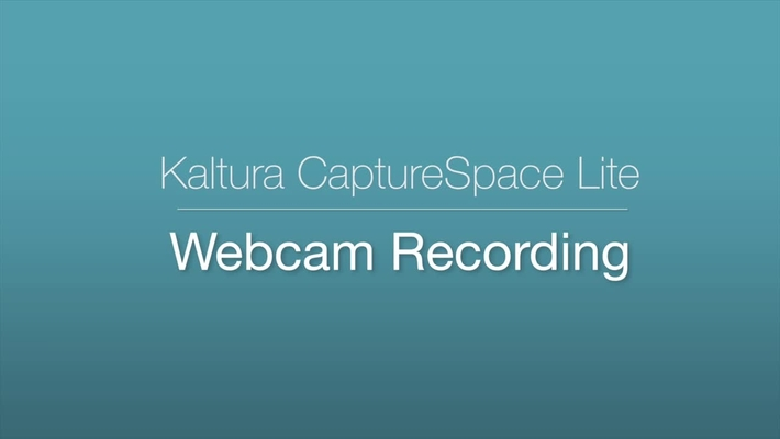 CaptureSpace - Webcam Recording
