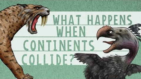 Thumbnail for entry What happens when continents collide? - Juan D. Carrillo