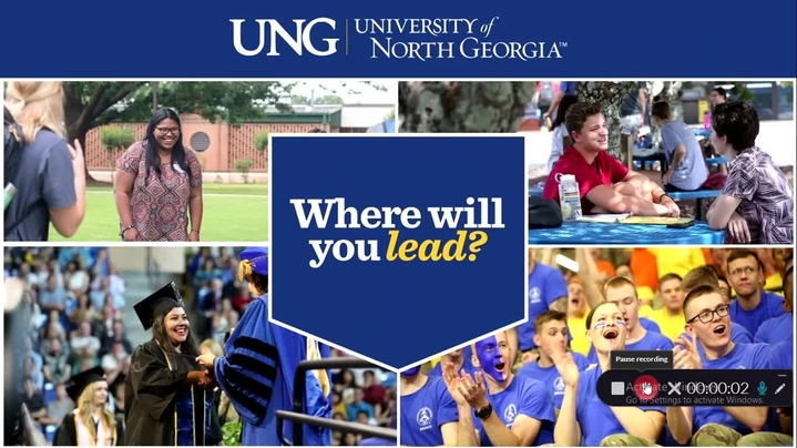 Thumbnail for channel UNG Admissions