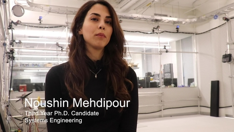 Thumbnail for entry Noushin Mehdipour (SE PhD '20)
