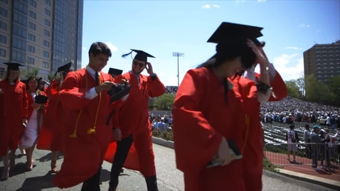Thumbnail for entry Highlights from Boston University's 2016 Commencement