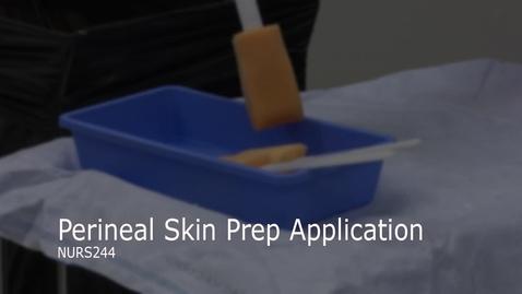 Thumbnail for entry NURS244-Perineal Skin Prep Application