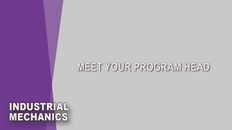 Thumbnail for entry Industrial Mechanics Saskatoon Student Orientation