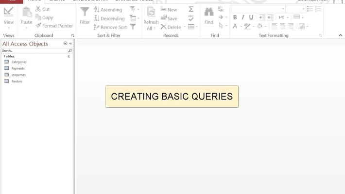Create Basic Queries