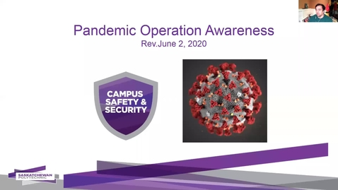 Thumbnail for entry Pandemic Operations Awareness rev Jun 5 2020