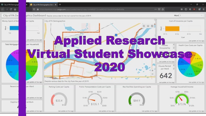 Thumbnail for channel Applied Research Virtual Student Showcase 2020