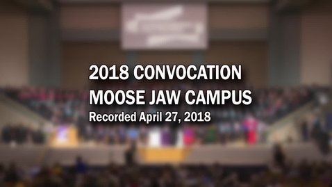 Thumbnail for entry Convocation MJ 2018